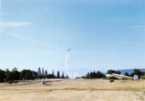 Gliders at Beagle airstrip