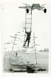 Ronn Dilling on rope ladder-breaking-through