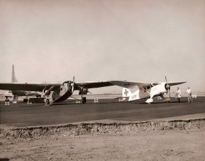 Medford airport flightline
