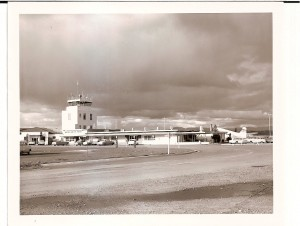 Tower at the Medford Airport looking East