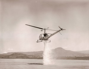 Helicopter water drop #2
